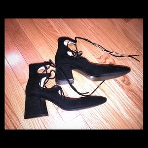 Perfect suede Zara shoes